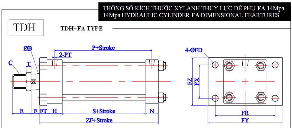 TDH+FA TYPE & TDHD +FA TYPE